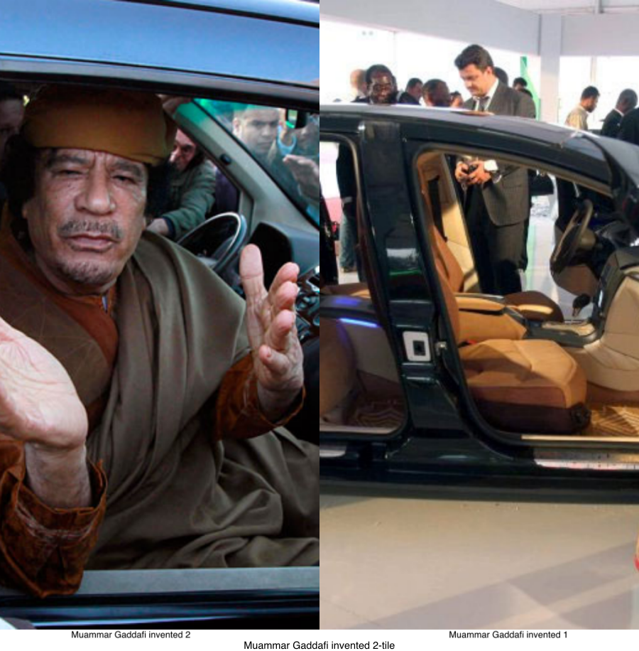 Muammar Gaddafi Invented Rocket Car Said To Be The Safest Car In The World Weafrique Nations