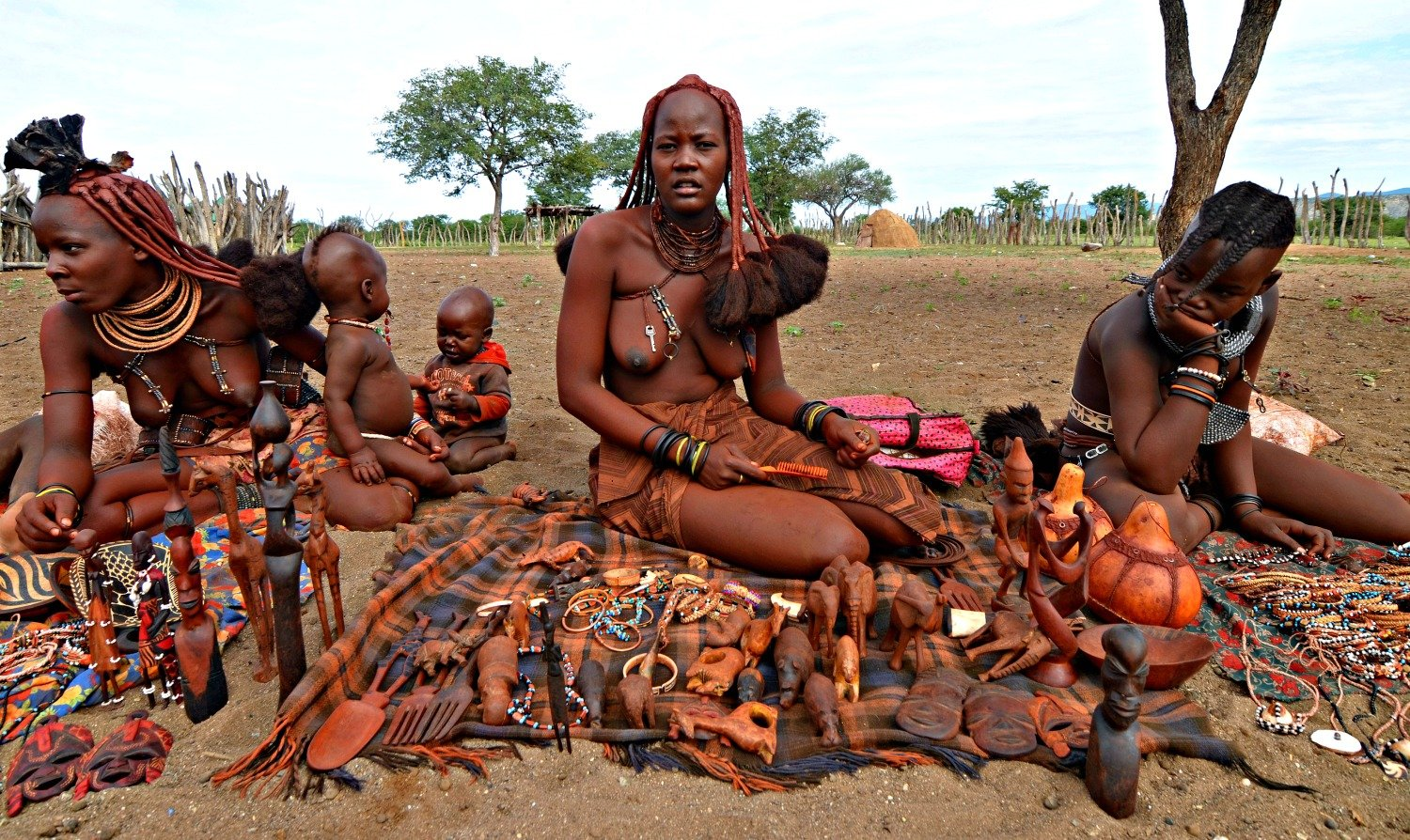 Men in african tribes naked